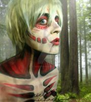 Female Titan (Male Version) by gender0less