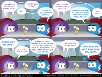 SC888 - Andy's Crisis by simpleCOMICS