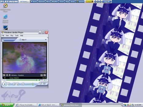 :Alien 9: FilmStrip of Kumi by RaimonEyes