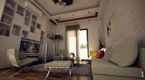 Living Room Proposal 02 by archiwhm