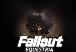 {SFM} Fallout Equestria: Poster logo by jaygaming1