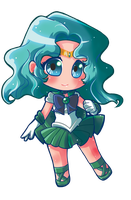 Commission:: Sailor Neptune by Hadibou