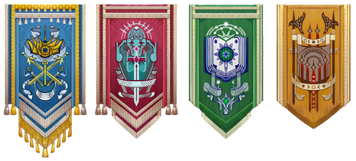 Valen Banners by AugustinasRaginskis