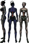 Female Borg Drawing Reference by SpiderTrekfan616