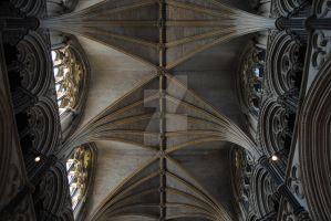 Inside Lincoln Cathedral by MaePhotography2010