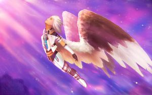 Flying to the Light by ERA-7S