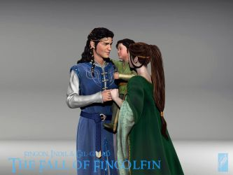 Fingon's Family 3D Concept - Detail 2 by Breogan