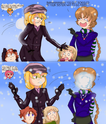'It's Snow-fair?' :P2: by magedusted