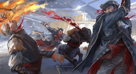 Destroy an Assassin Gang by sunsetagain