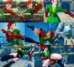 Non Jacked Cammy Story with Black Hair by bbbSFXT