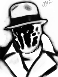 Rorschach: iPad by JimOfRapture