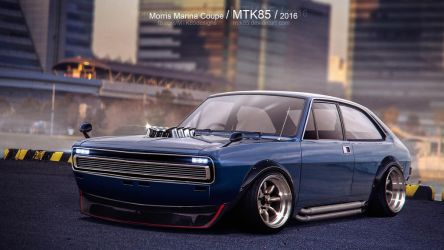 Morris Marina Coupe by MTK85