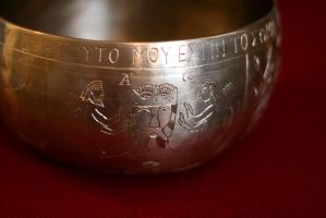 Engraved kettle by Dewfooter