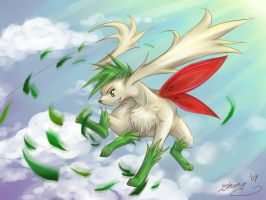 Pokemon - Shaymin Leaf Storm