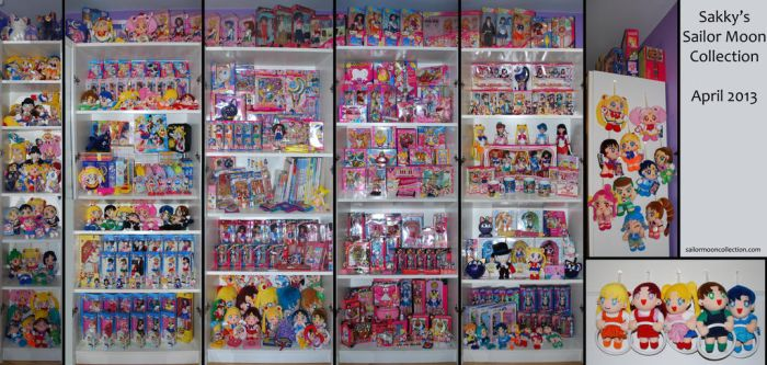 Sakky's Sailor Moon Collection - April 2013 by SakkysSailormoonToys