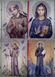 St. Francis sketch by kimberly80