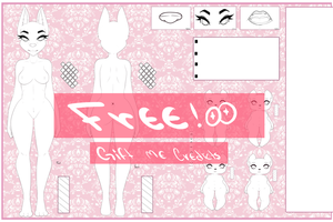 FREE  //   Reference Complete  (Gift Me Credits) by Amysha-Rose