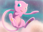 A Mew in the Sky by Steve-does-art