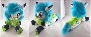 Zeen Floppy Plush by StarMassacre