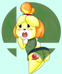 Isabelle Butts in Smash by ButLova