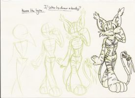 Lesson one How to make bodies by Dormin-Kanna