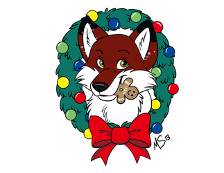 Mlee holiday portrait by Miss-Melis