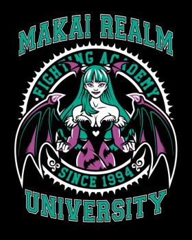 Makai Realm University - Darkstalkers by Nemons