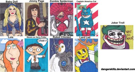 March of Dimes - Sketch Cards by Dangerskillz