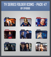 TV Series Folder Icons - Pack 47 by DYIDDO