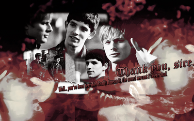 Wallpaper_Merlin and Arthur001 by numb22z