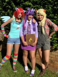 My little pony Friendship is magic cosplay by tollywoga
