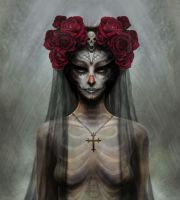 Day of the Dead Bride by Markelli