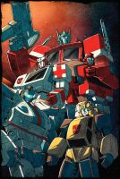 Autobots - colors by dcjosh by beamer