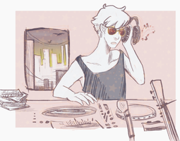 late night jam session by affectionateTea