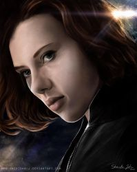 #07 BLACK WIDOW by Sheridan-J