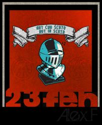 February 23 Card by Protey17