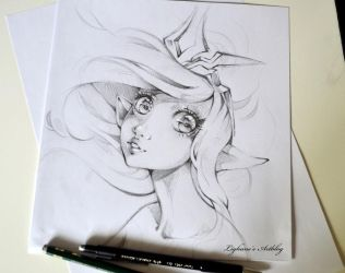 Janna Sketch by Lighane