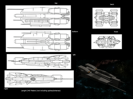 Heavy Cruiser by st0rmblade
