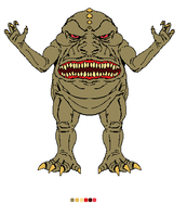 Big Mouth Kaiju by CosbyDaf