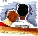 2 guys in church :3 by NanakoHarrison