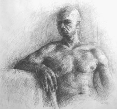 Figure Drawing I by Schlady