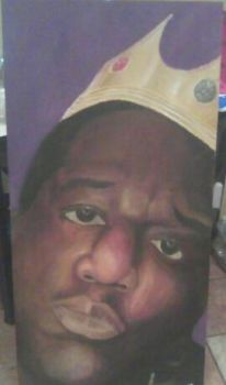 Biggie Smalls Painting by monster711