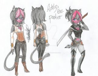 Reference: Achlys the panter by ShawtyWhiite