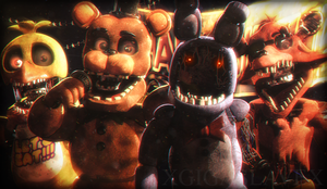 [Cinema4D FNaF2] Remember us? by xGigaSlavex