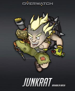 Overwatch - Junkrat by HayzenR