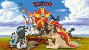 The Pyroar King by sbooc
