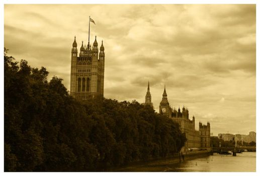 Postcard from London by Kaszydlo