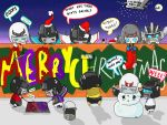 Merry Christmas_Transformers style by WisesnailArt