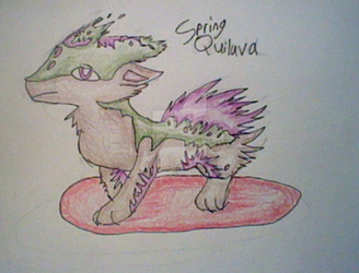Spring Quilava by QuilavaBurn