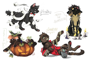 Halloween YCH finished by Kyldrun